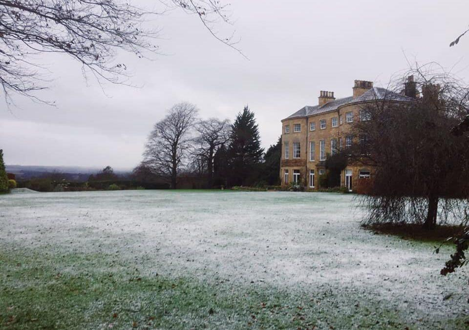 A sprinkling of snow