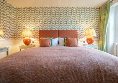 squerryes room, hooton pagnell hall, luxury bed and breakfast, doncaster, yorkshire