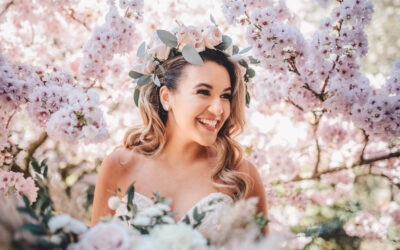 Blossoming Wedding Inspiration from 'Save the Date' Magazine…