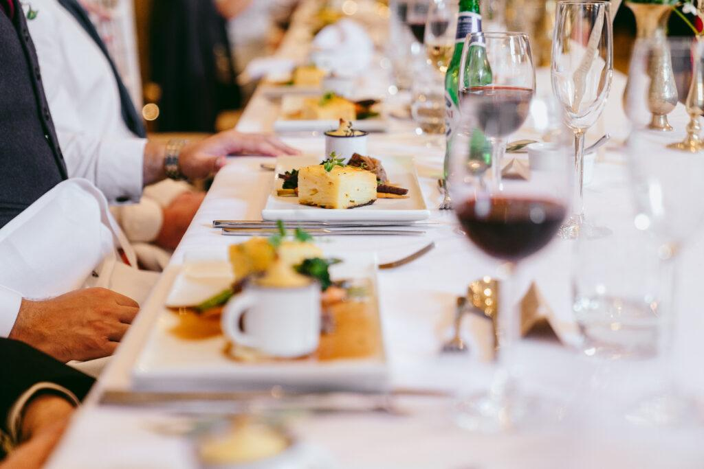 Wedding Food, Wedding Catering, Eat Me Drink Me,  Hooton Pagnell Hall